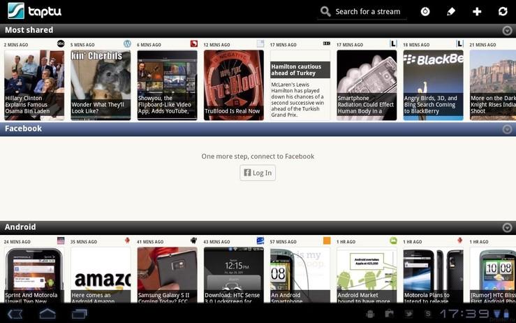 Taptu RSS feed